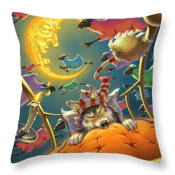 Dreamland Iv Throw Pillow