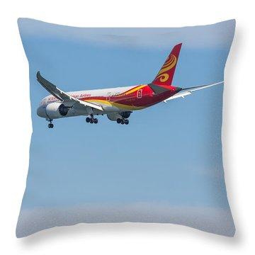 Dreamliner Throw Pillow