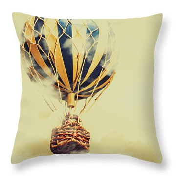Dreams And Clouds Throw Pillow