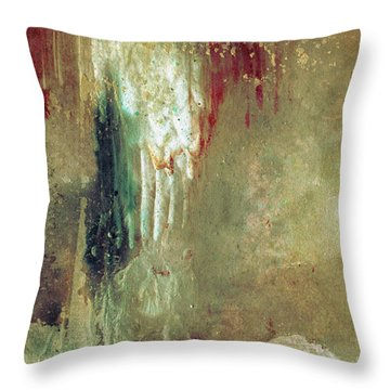 Dreams Come True - Earth Tone Art - Contemporary Pastel Color Abstract Painting Throw Pillow