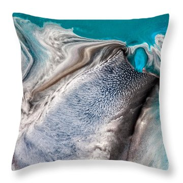 Dreams Like Ocean Throw Pillow