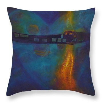 Dreams Never Die 1 Throw Pillow