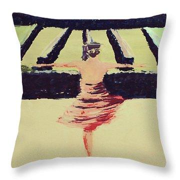 Dreams Of A Dancer Throw Pillow