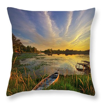 Dreams Of Dusk Throw Pillow
