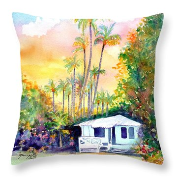 Dreams Of Kauai 3 Throw Pillow