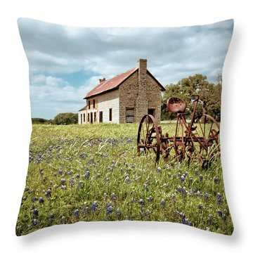 Throw Pillow featuring the photograph Dreams Of Long Ago by Linda Unger