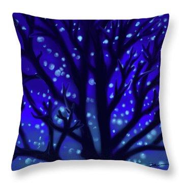 Dreams Of Needham Throw Pillow