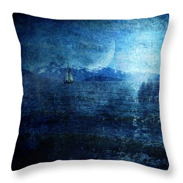 Dreams Of Sailing Throw Pillow