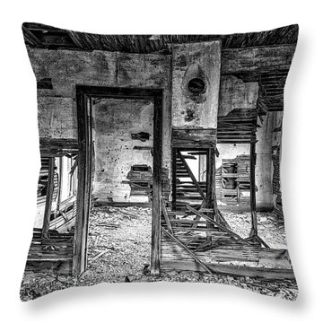 Throw Pillow featuring the photograph Dreams Of The Past by Darren White