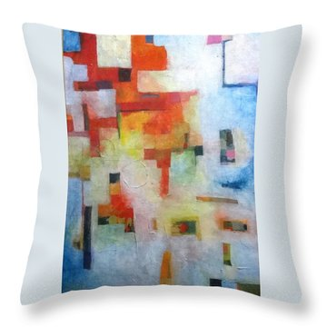 Dreamscape Clouds Throw Pillow