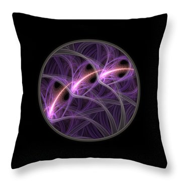 Throw Pillow featuring the digital art Dreamstate by Lyle Hatch