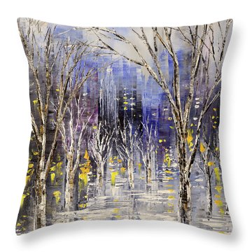 Dreamt Of Driving Throw Pillow