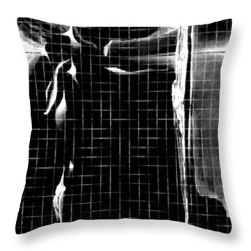 Throw Pillow featuring the digital art Dreamtime by James Lanigan Thompson MFA