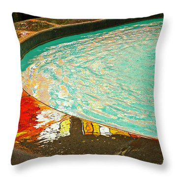 Dreamtime Throw Pillow by Skip Hunt