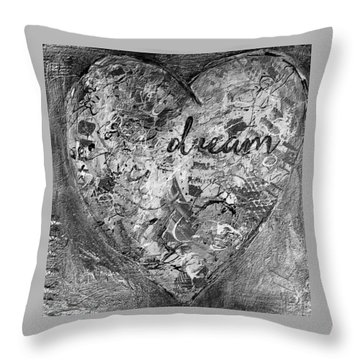 Dreamvariation Throw Pillow by Gail Butters Cohen