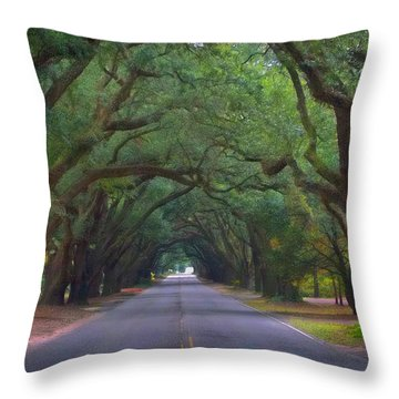 Dreamy Boundry Throw Pillow