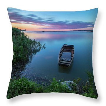 Dreamy Colors Of The East Throw Pillow
