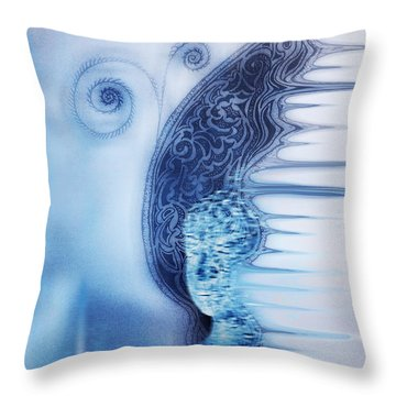 Dreamy Dream Throw Pillow