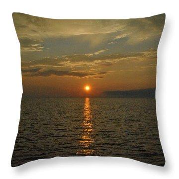 Dreamy Dusk Throw Pillow