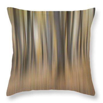 Dreamy Forest Throw Pillow