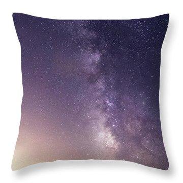 Dreamy Milky Way Throw Pillow