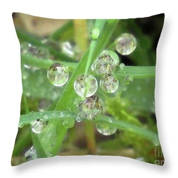 Dreamy Morning #5 Throw Pillow by Kim Tran