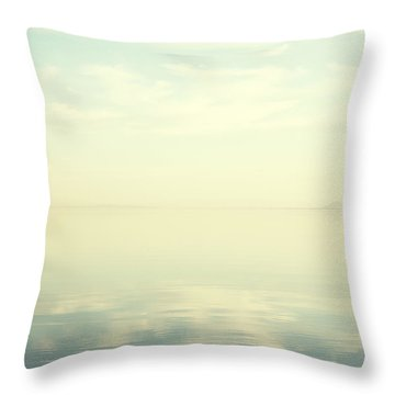 Dreamy Ocean Throw Pillow