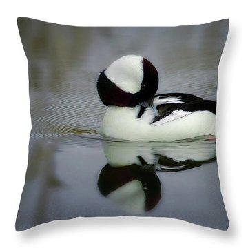 Dreamy Preen Throw Pillow