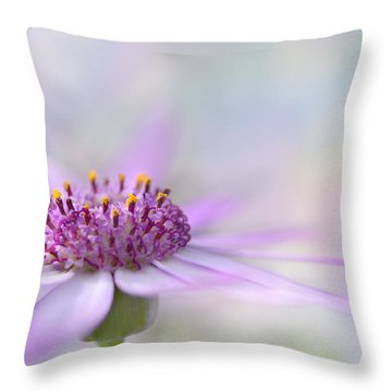 Dreamy Two Throw Pillow
