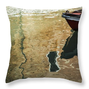 Throw Pillow featuring the photograph Dreamy Waters by Yuri Santin