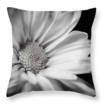 Dressed In Black And White Throw Pillow