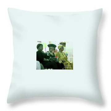 Dressed To The Nines Throw Pillow