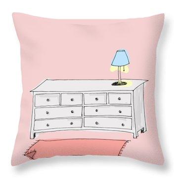 Dresser Throw Pillow