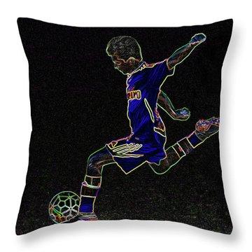 Dribbling Throw Pillow