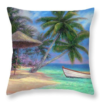 South Beach Throw Pillows