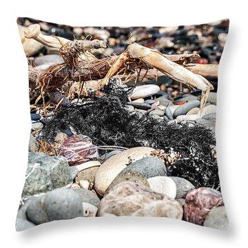 Drift Weed Throw Pillow