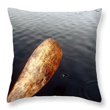 Drifting  Throw Pillow