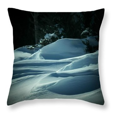 Drifts Throw Pillow