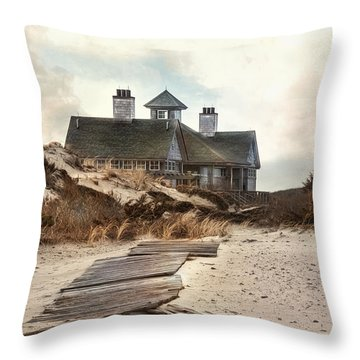 Throw Pillow featuring the photograph Driftwood by Robin-lee Vieira