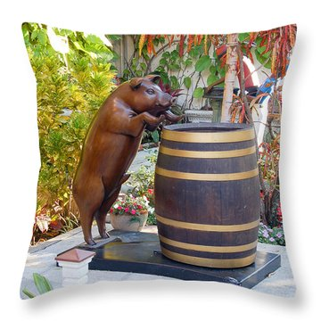 Drink Up Throw Pillow