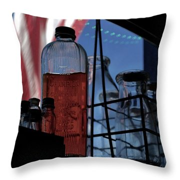 Drinking From The Wrong Bottle Throw Pillow