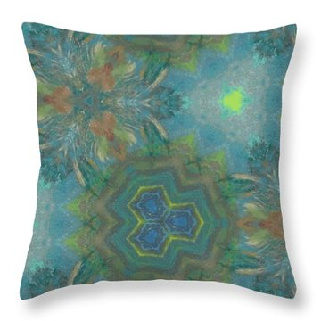 Drinking The Nectar Of Life Throw Pillow