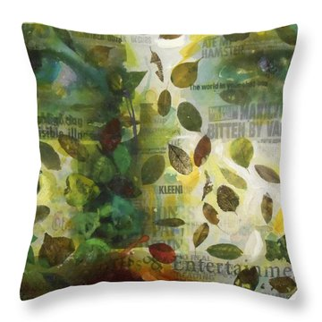 Dripping Souls Throw Pillow by Alfredo Gonzalez