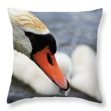Drippy Nose Throw Pillow