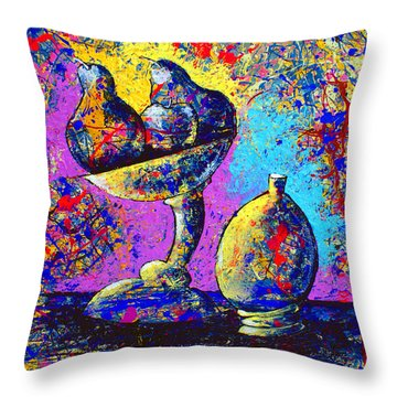 Dripx 79 Throw Pillow