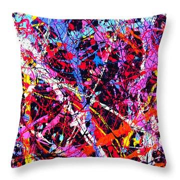 Dripx 11 Throw Pillow
