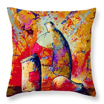 Dripx 87 Throw Pillow