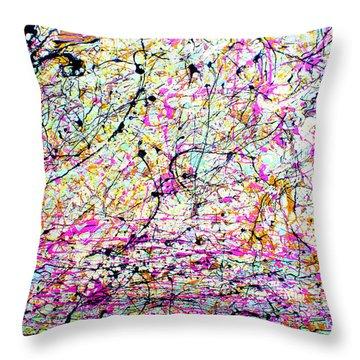 Dripx 3 Throw Pillow
