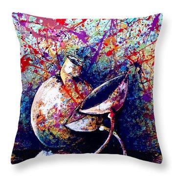 dripX 84 Throw Pillow