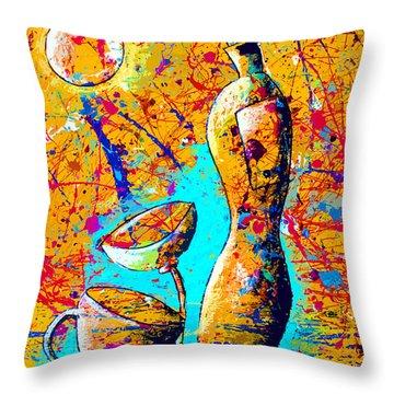 Dripx 75 Throw Pillow